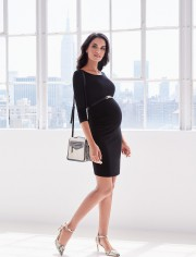Robe de grossesse galbante Tessa