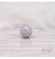 Bola Glamour Gris