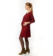 Robe maternité Hayat Bordeaux