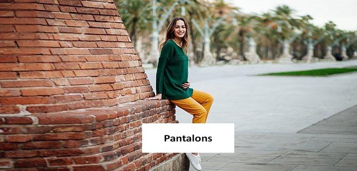 Découvrez nos collections de Pantalons